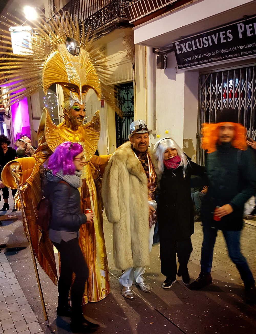 Drag Ybridex - Fred - Calle -Sitges Carnival                    2018